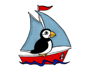 puffin-on-yacht